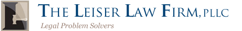 The Leiser Law Firm logo